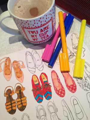 Colouring in and Hot Chocolates