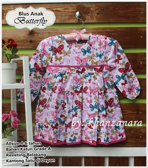 Whitelily Grosir Baju Anak Perempuan Baju Atasan Anak
