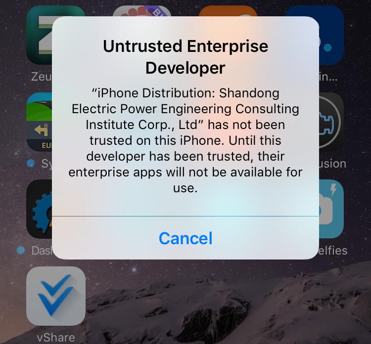 Untrusted Enterprise Developer
