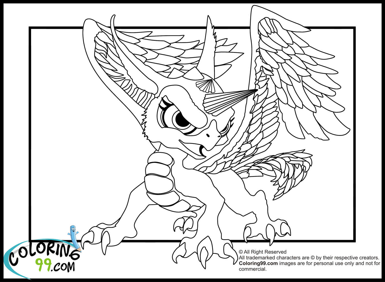 Lego Elves Dragon Gust Coloring Page Lego Elves Water Dragon