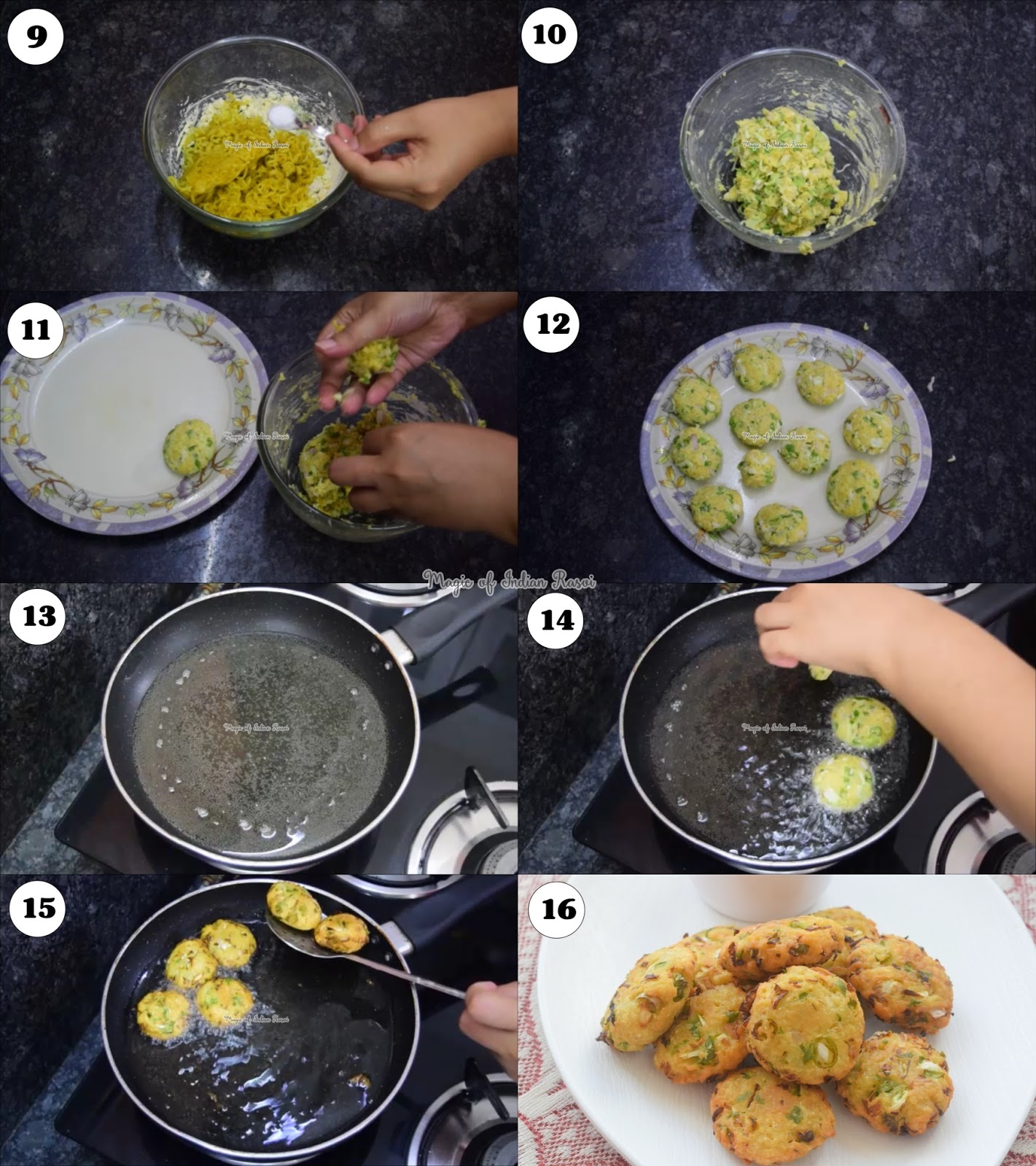 Maggi Vada - Kids Special Recipe - मैगी वड़ा रेसिपी - Priya R - Magic of Indian Rasoi