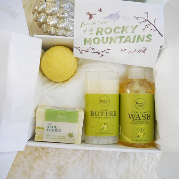 Rocky Mountain Soap Co. Refresh Gift Set
