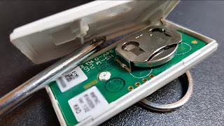 blyssbox message alerte technique batterie faible télécommande alarme