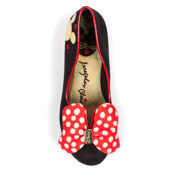 irregular choice disney classic minnie shoe preview
