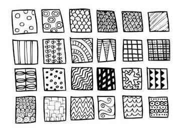 contoh pattern doodle art