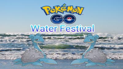 Sudah cukup usang nih Pokemon Go tidak mengadakan event yang cukup keren sejak Generasi  Pokemon Go Water Festival Sudah Dimulai