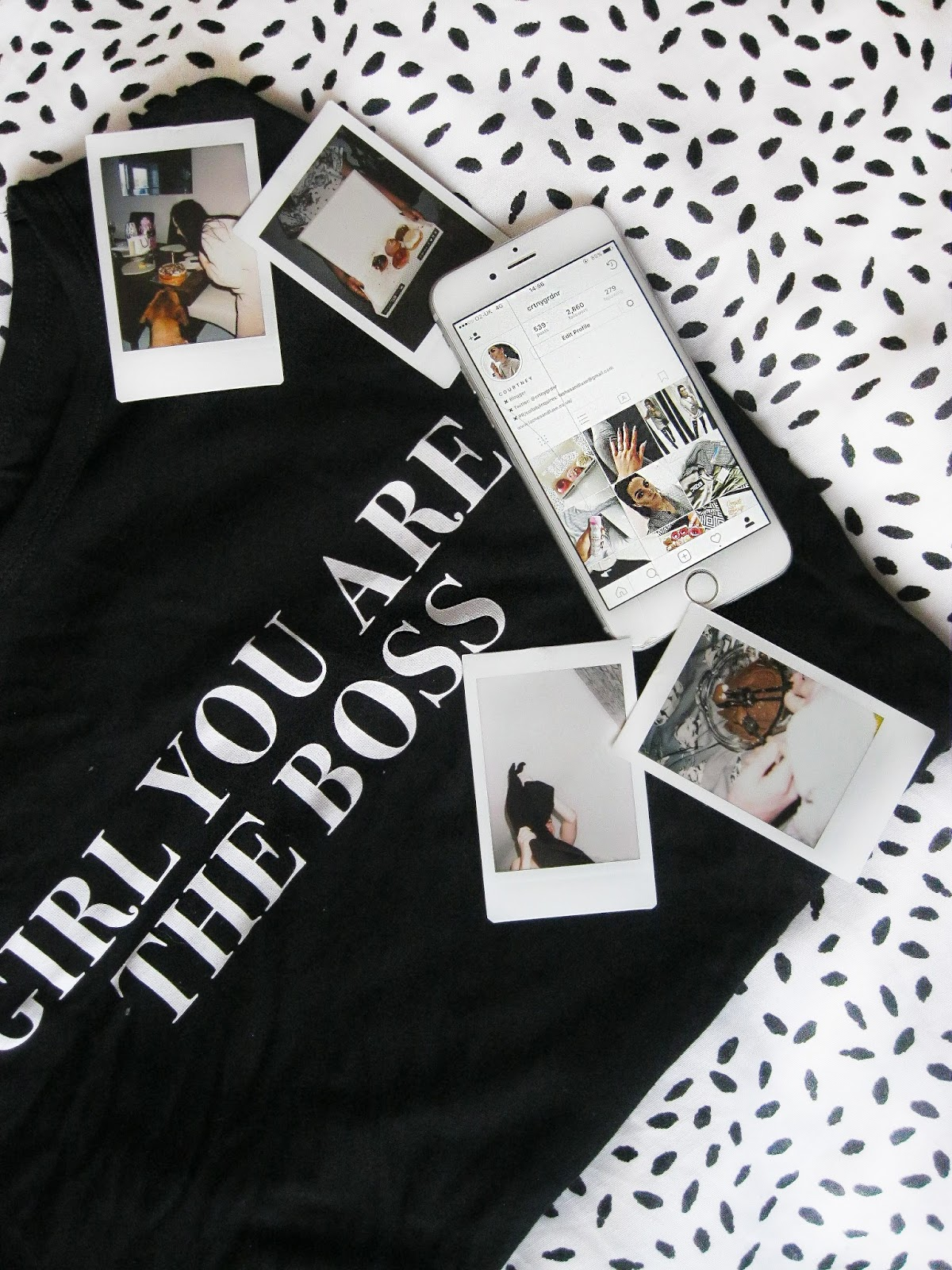GIRL YOU ARE THE BOSS TSHIRT