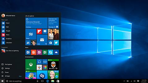configurar seguridad en windows 10