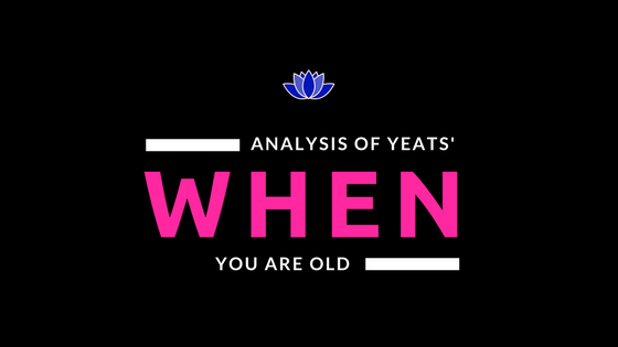 When You Are Old by W. B. Yeats- Analysis