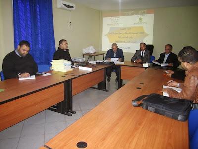 انعقاد اللجنة الإقليمية لانتقاء الجمعيات الشريكة في مجال محاربة الأمية بإقليم قلعة السراغنة الموسم 2014-2015