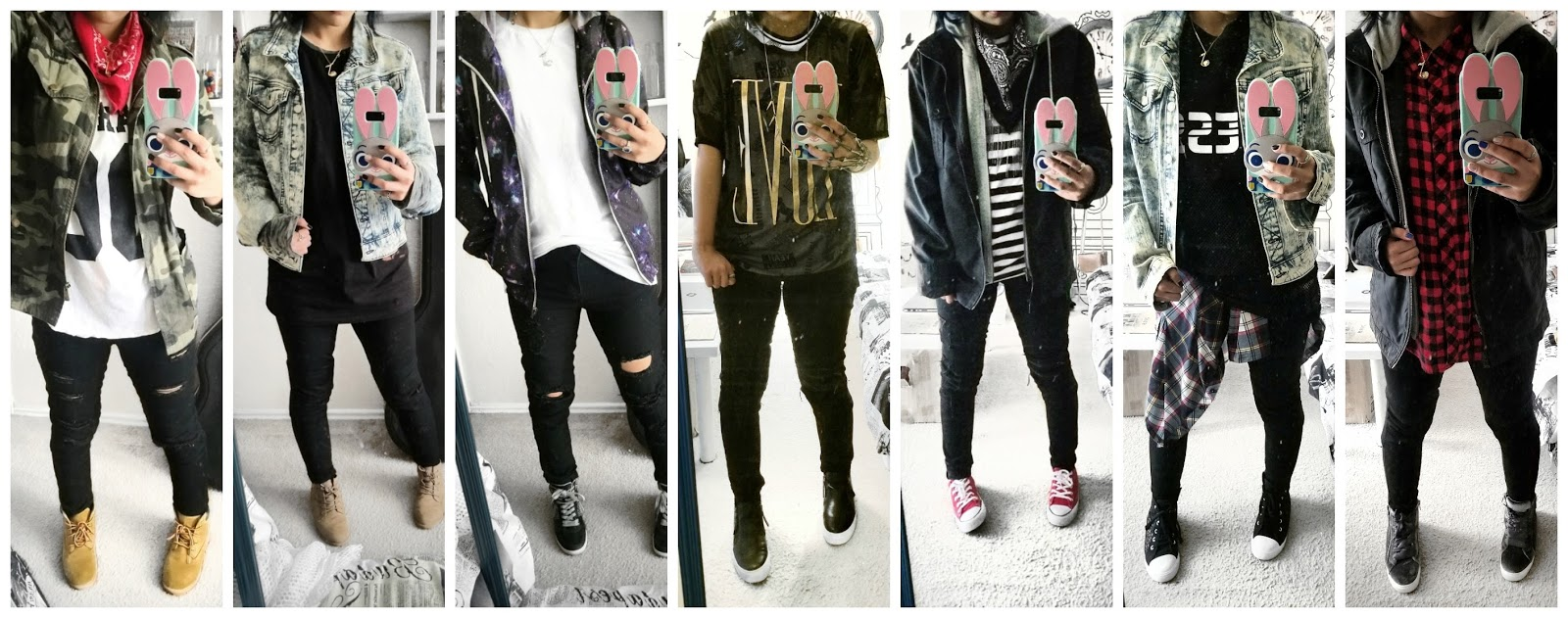 2550d8b085c2ca The Bookworm: BTS Inspired Outfits! I Dressed Like Kpop Idols For A ...