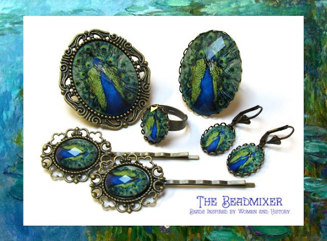 Bijoux peacock