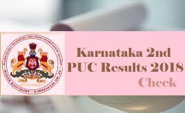Karnataka 12th Result 2018, Karnataka PUC Result 2018, Karnataka 2nd PUC 2018 Results