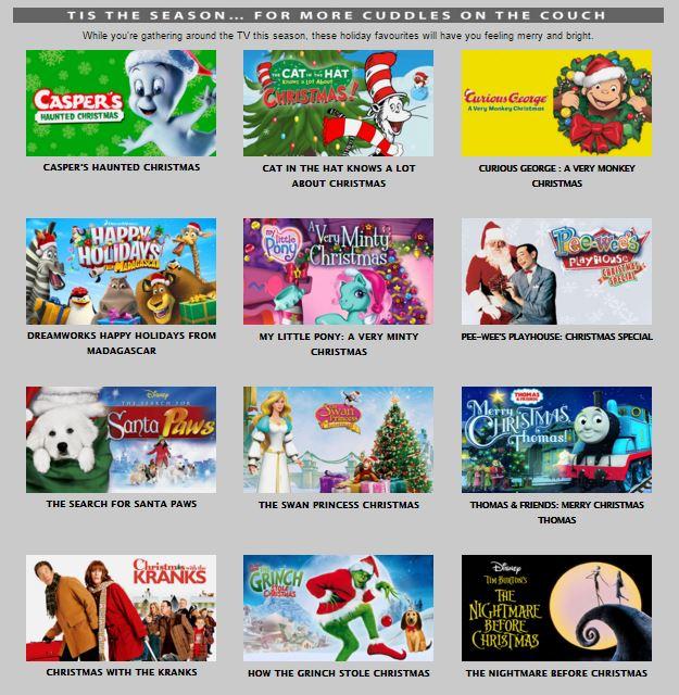 Christmas Movies 2015
