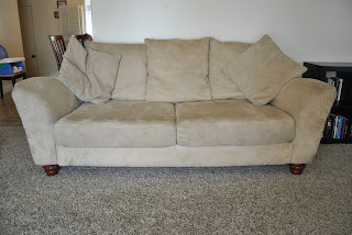 Our Moving Sale Microfiber Couch And Loveseat 300