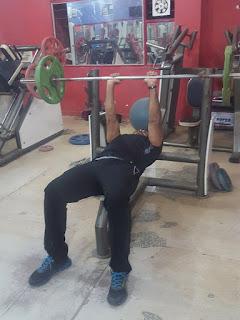 Close Grip Bench Press Triceps
