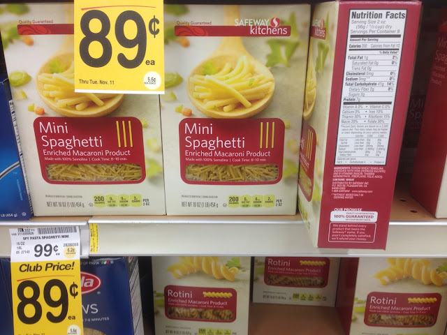 Mini Spaghetti, Safeway Kitchens - Safeway