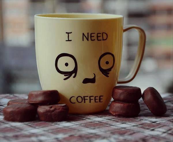 عندما تكون بحاجة إلى شرب قهوتك المعتادة