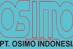 Lowongan Kerja Terbaru PT Osimo Indonesia 2018