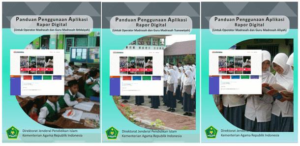 Panduan Penggunaan Aplikasi Rapor Digital Madrasah MI MTs MA 2018