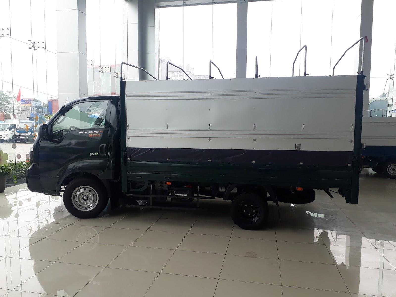 Địa chỉ mua xe tải Hyundai Thaco K200 tại Hải Phòng giá rẻ, cạnh tranh