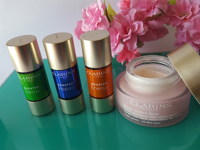Clarins - Booster Energy, Repair e Detox
