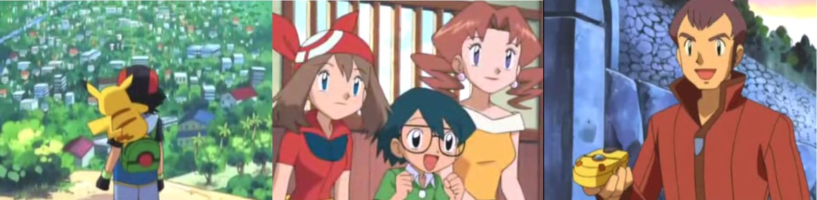 Pokemon Capitulo 3 Temporada 6 No Hay Un Lugar Como Hoen