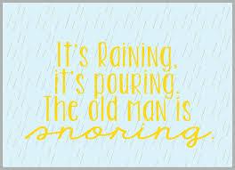 rainy day funny quotes