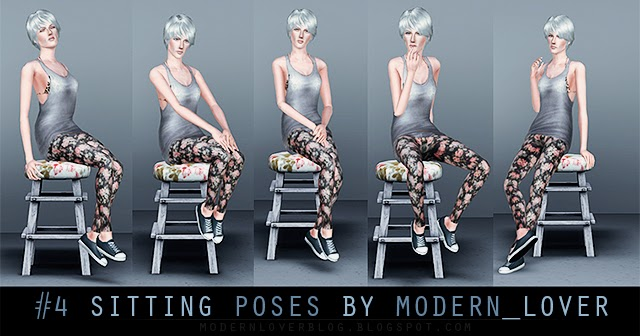 My Sims 3 Poses Pack № 4 Sitting Poses By Modern Lover
