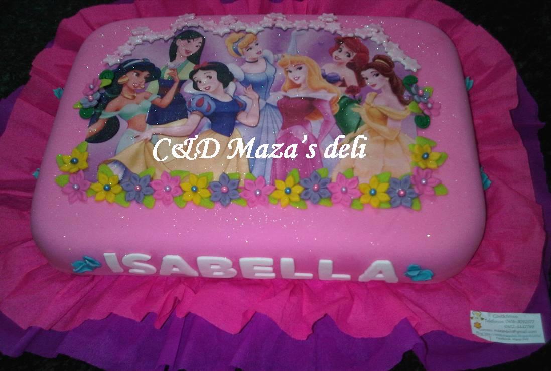 torta de cumpleaos princesa - photo #29