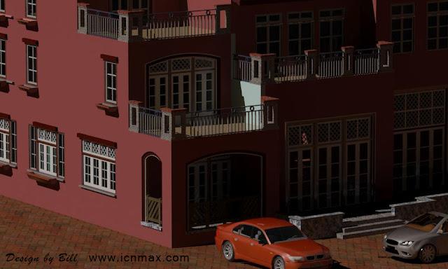 3dsMax室外建模西班牙別墅