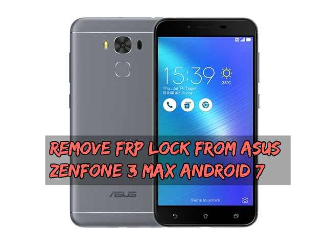 Mobile & Laptop Repair: Remove FRP Lock From Asus Zenfone 3