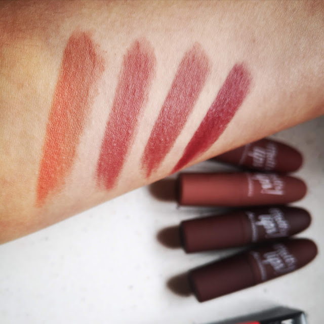 labiales Mc swatches