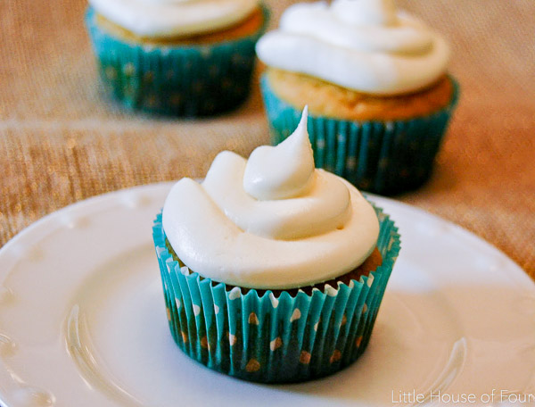 Sweet Potato Cupcakes with Maple Cream Cheese Icing | Little House of ...