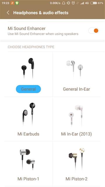 Headphones & Audio Effects tidak berfungsi