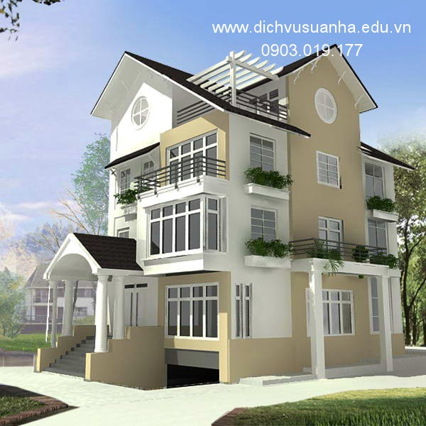 Một mẫu thiết kế nhà