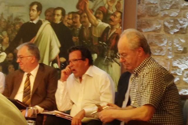 Πολιτικός αναλυτής του BBC στο Ναύπλιο - Ομιλία Δένδια στο  Ελληνοβρετανικό Συμπόσιο