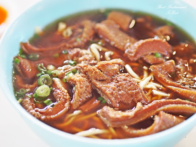 Sungai Lembing Kuantan Pahang Lembing San Seng Noodle beef Brisket Ngau Lam Mee