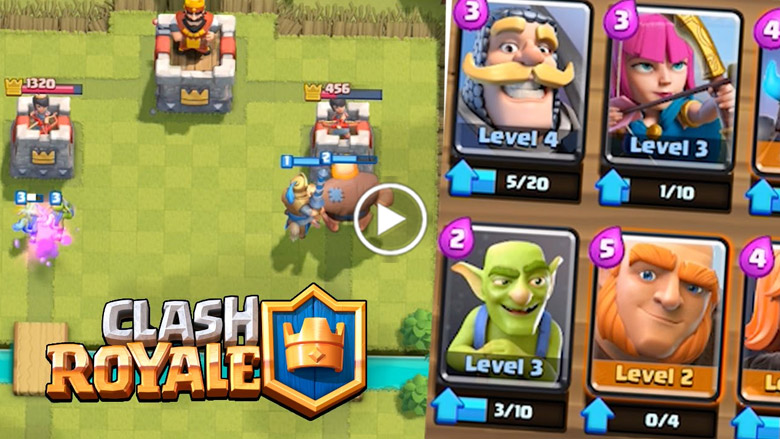 Estratégia para iniciantes em Clash Royale - 1