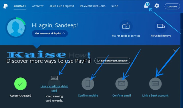 paypal verifyd kaise kare