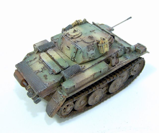 Gulumik Military Models: Pz II L LUCHS 1/76 Milicast