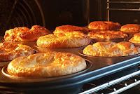 Kicher-Brötchen (Low Carb) im Ofen