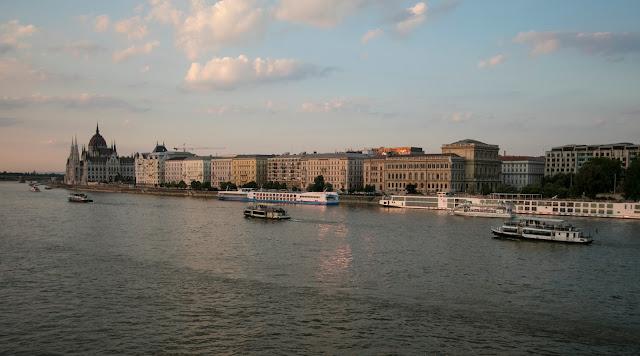 Vista dal ponte delle catene-Budapest