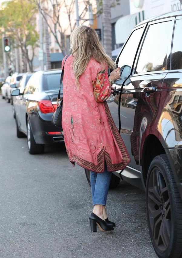Amber Heard street style boho look