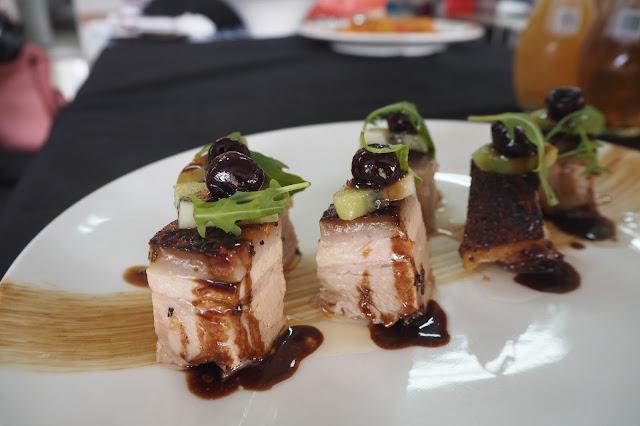 fine dining singapore pork belly review singapore
