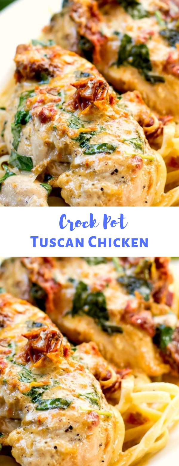 CROCK POT TUSCAN CHICKEN