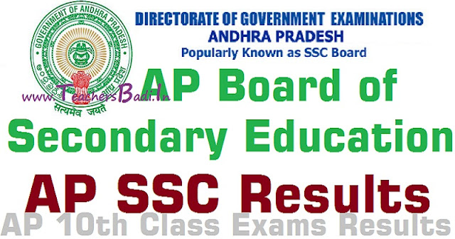 AP SSC Results,AP 10th Class Exams Results 2016