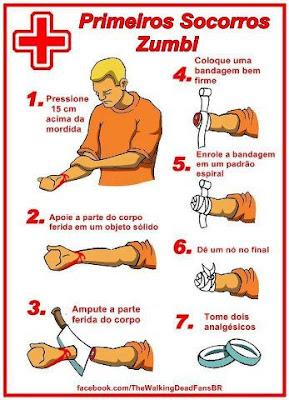 Como evitar a infecção zumbi