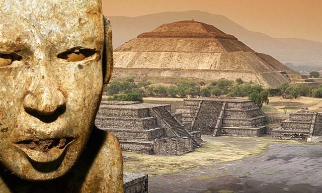 la mica de los dioses mexicanos difunde la evolucion