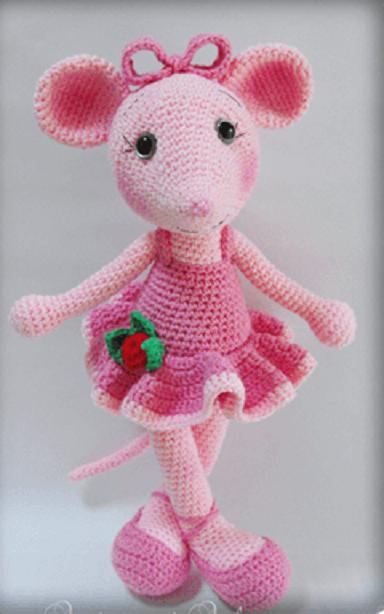 вязание мини игрушек